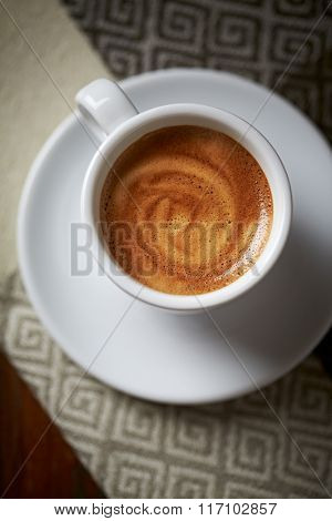 Cup of Espresso (seen from above)