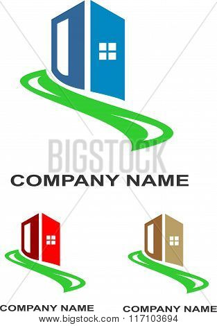 stock logo real estate