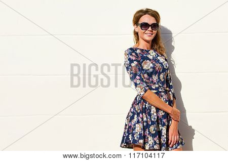 stylish dress woman