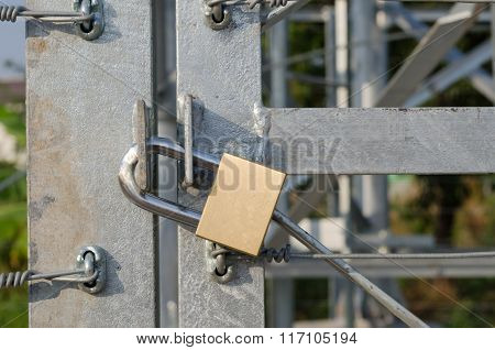Locked Brass Keys.