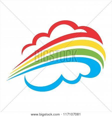 cloud rainbow