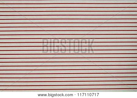 Paper Lined Pattern Texture - Red Paper Bag.