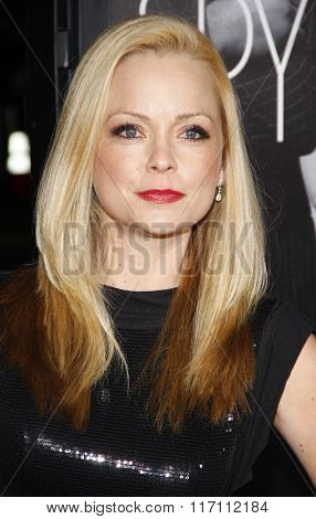 Marisa Coughlan at the Los Angles Premiere of