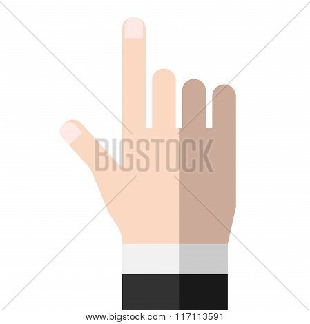 Hand, Pointing Or Touching