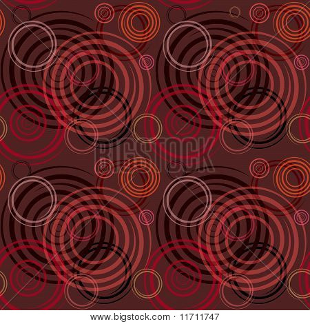 Seamless pattern. Design with spiral elements.