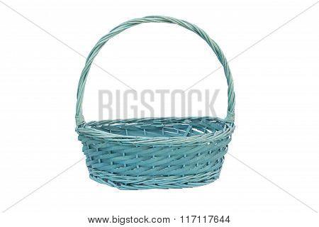 Brown wicker basket