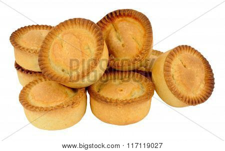 Group Of Fresh Baked Meat Pies