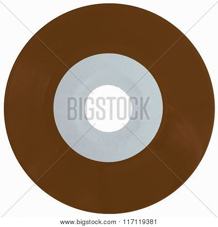 Vinyl Record Isolated Vintage