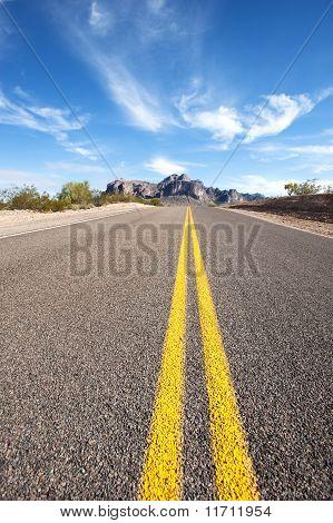 Long Desert Road