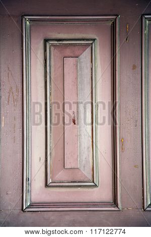 Abstract S   Brass Brown Knocker In A   Lombardy Italy  Varese