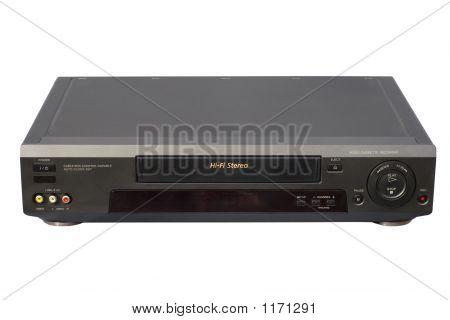 Videocassete Hi-Fi preto