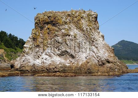 Rock at Cape Giant, Sakhalin Island