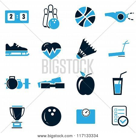 Sports icons set