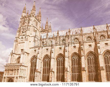 Canterbury Cathedral Vintage