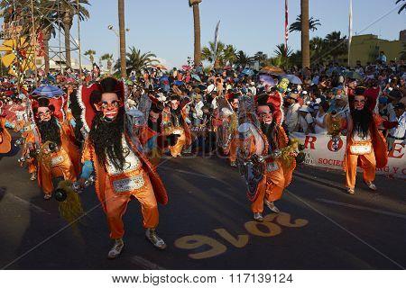 Andean Carnaval Dancers