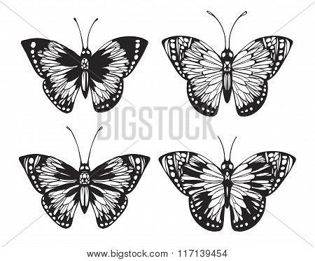 Vintage Butterfly set.