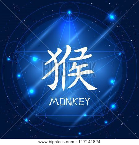Chinese Zodiac Sign Monkey