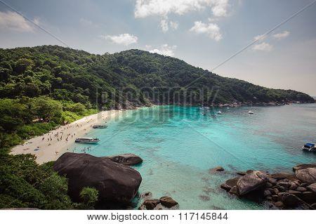 Tropical Beach, Similan Islands,  Thailand