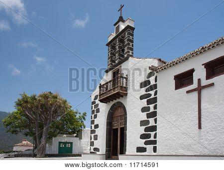 White Chapel At La Palma, Canary Islands