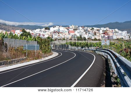 Cityscape Of Los Llanos, La Palma, Canary Islands
