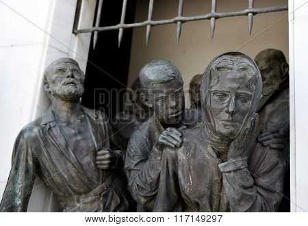 Liberty Monument  Nicosia Cyprus