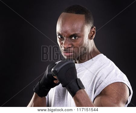 Young Engry Fighter