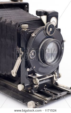Dusty Folding Camera