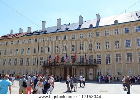 Old Royal Palace in Prague Castle, Czech Republic