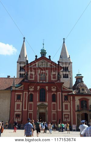 St. George's Basilica in Prague Castle, Czech Republic
