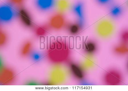 Color Bokeh Blur Background