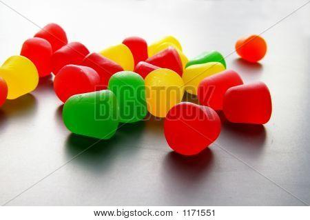 Gotas de goma