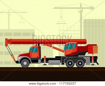 Truck Mounted Telescopic Boom