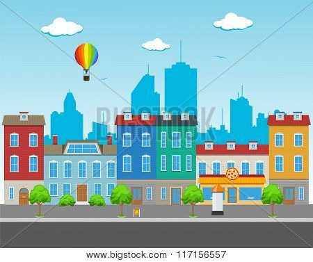 Big City Street