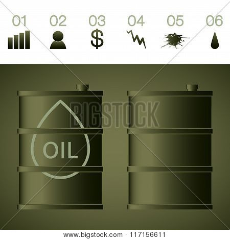 Oil price going up and down