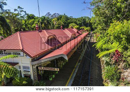 The railway station of Kuranda