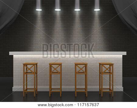 The Bar Made Of Brick.