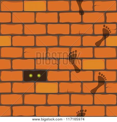 seamless vector pattern, bricks