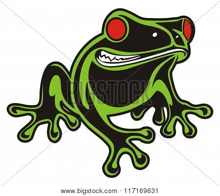FROG RED EYES