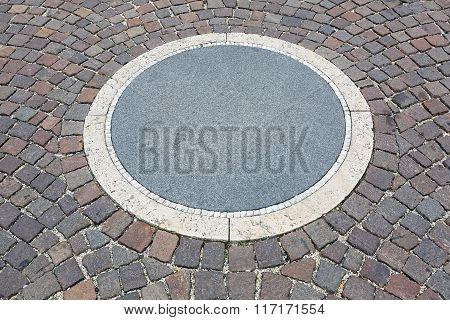 Circle At Pavement