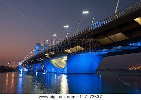 Sheikh Zayed Bridge, Abu Dhabi, Uae