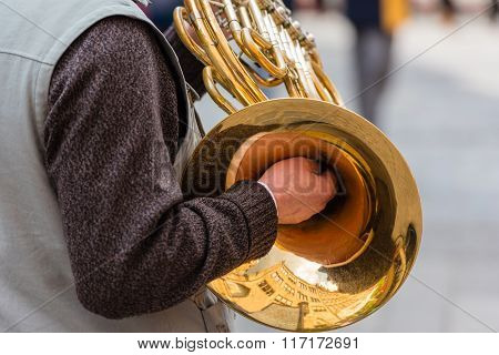 Man With A Trumpet