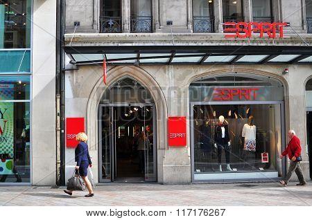 Esprit Store In Geneva City Centre