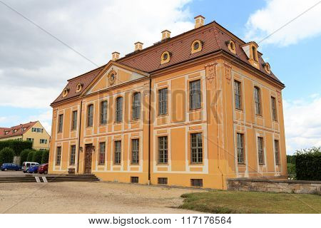 Friedrich Palace At Baroque Garden Grosssedlitz In Heidenau, Saxony