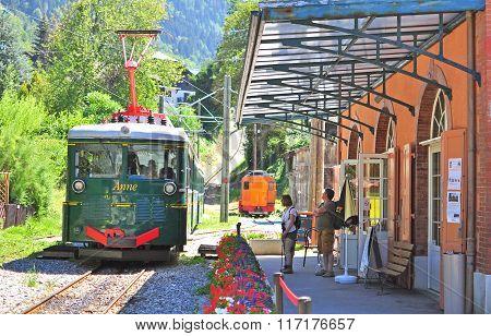 Montblanc Tramway, France