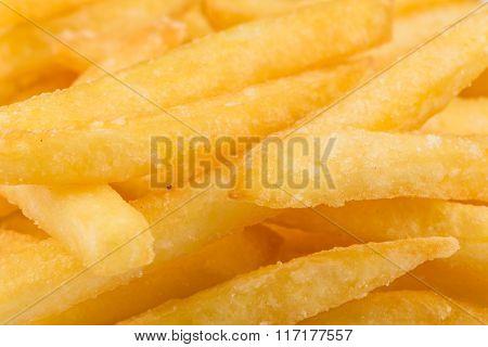Fried Potatoes Closeup
