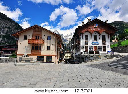 Courmayeur, Aosta, Italy
