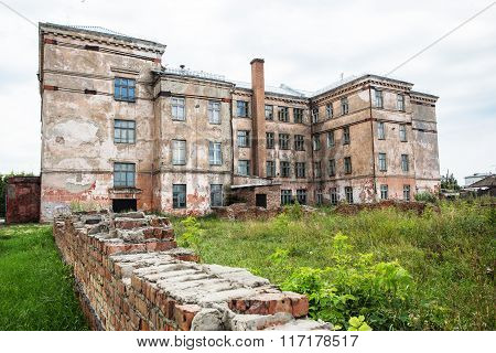A Large Abandoned Building