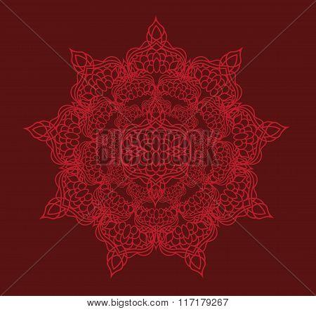 Ottoman Pattern Background