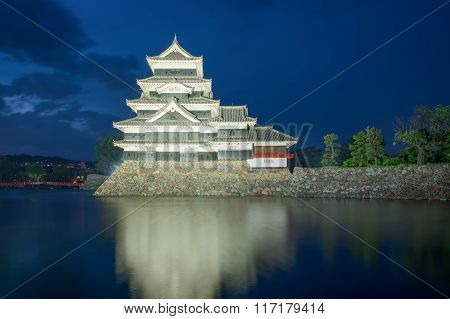 Matsumoto Castle In Matsumoto Nagano, Japan