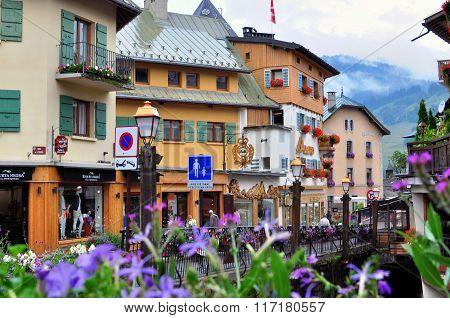Megeve Ski Resort, France